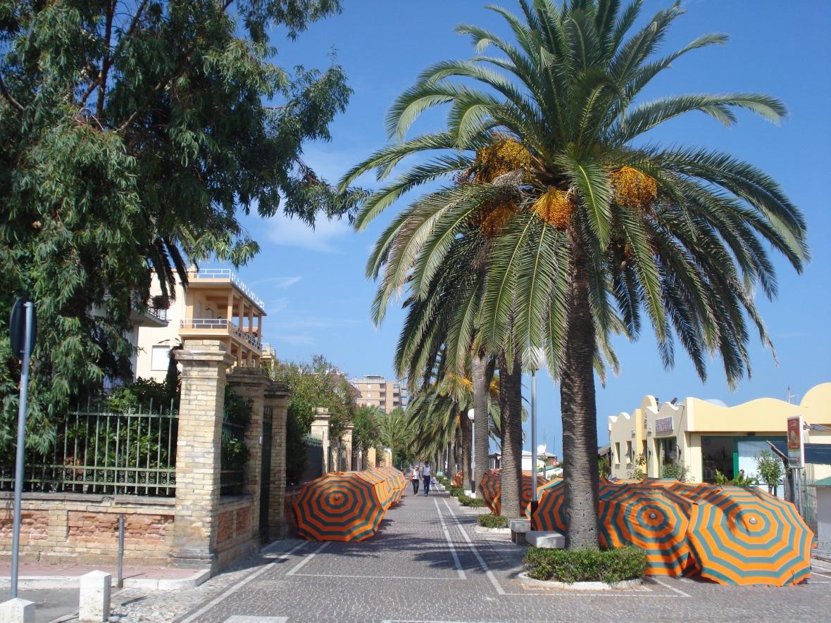Riviera delle Palme in Grottammare