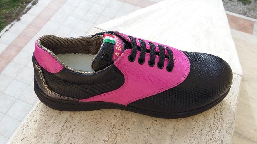 Wintertraum: Pink-Schwarz