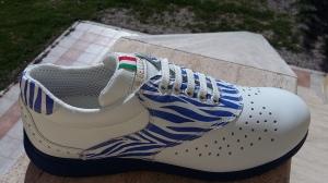 Zebra Blau