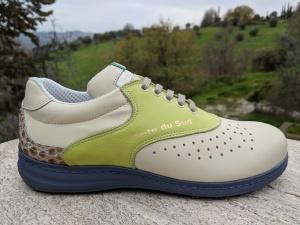 Cote du Sud, personalisierter Maß-Schuh für Anja
