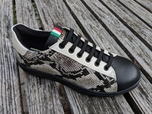 Sneakers Boa Schwarz-Weiß, 36