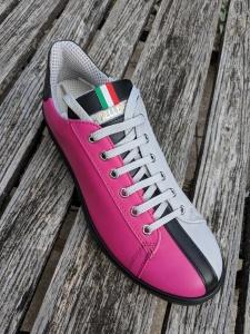 Sneakers Half: Grau-Pink, 39,5