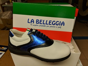 Inter Mailand-Schuh für einen italienischen Nachwuchs-Golfer