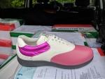 Pink mit Weiß